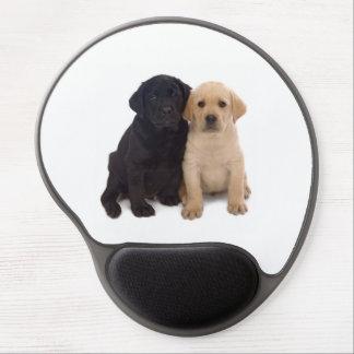 labrador puppy gel mousepad