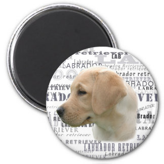 Labrador puppy magnet