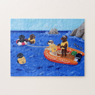 Labrador Rescue Team Jigsaw Puzzle