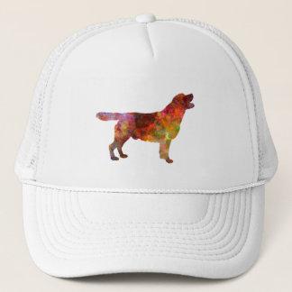 Labrador retriever 01 in watercolor 2 trucker hat