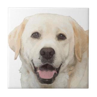 Labrador retriever 1 ceramic tile