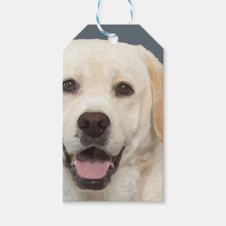 Labrador retriever 1 gift tags