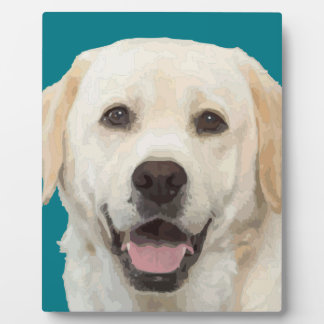 Labrador retriever 1 plaque