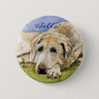 Labrador Retriever 6 Cm Round Badge