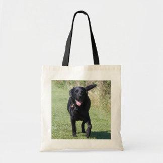 Labrador Retriever black dog beautiful photo, gift Tote Bag