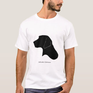 Labrador Retriever - black Silhouette T-Shirt