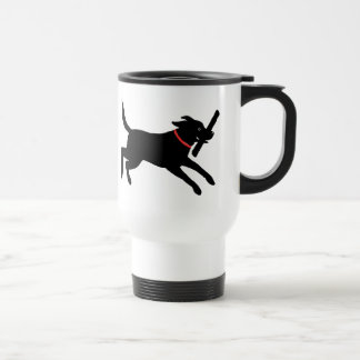 Labrador Retriever (Black) Travel Mug