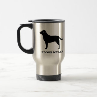 Labrador Retriever (Black) Travel Mug