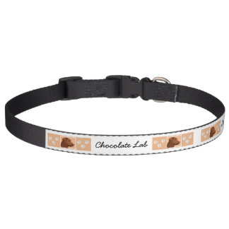Labrador Retriever (Chocolate) Pet Collar