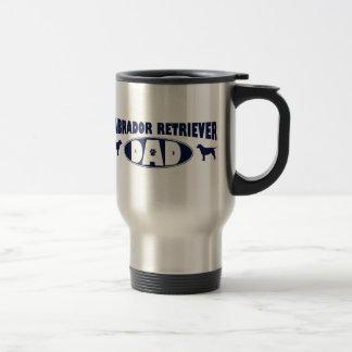 Labrador Retriever Dad Travel Mug