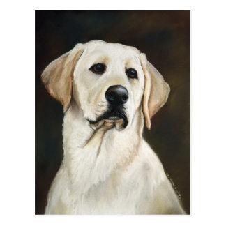 Labrador Retriever Dog Art Postcard