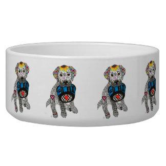 Labrador Retriever Dog Bowl (Customizable)