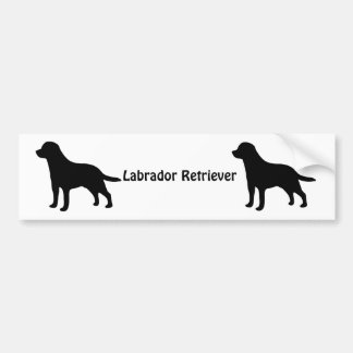 Labrador Retriever dog bumper sticker, gift idea Bumper Sticker