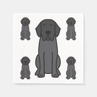Labrador Retriever Dog Cartoon Disposable Napkins