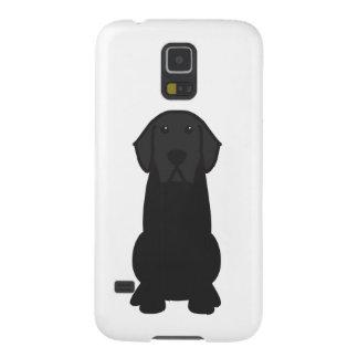 Labrador Retriever Dog Cartoon Galaxy S5 Covers