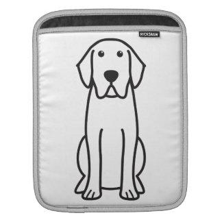 Labrador Retriever Dog Cartoon Sleeves For iPads