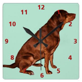 Labrador Retriever Dog Clock Customizable