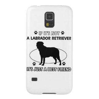 LABRADOR RETRIEVER dog designs Galaxy S5 Cases
