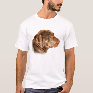 Labrador Retriever Dog T Shirt, Customizable T-Shirt