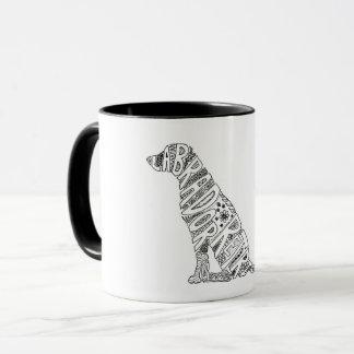Labrador Retriever Doodle Design Mug