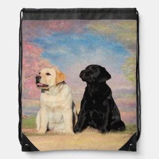 Labrador Retriever Drawstring Bag