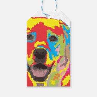 Labrador retriever gift tags