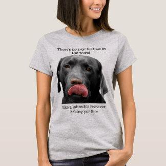 Labrador Retriever giving a Big Wet Smooch t-shirt