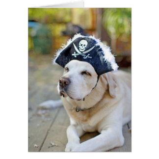 Labrador Retriever Halloween Greeting Greeting Card