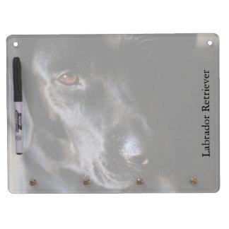 Labrador Retriever Horizontal Dry Erase Board