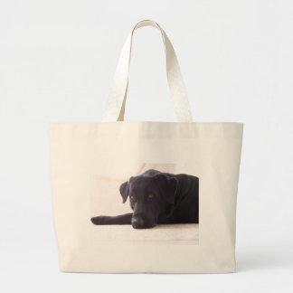 labrador retriever large tote bag