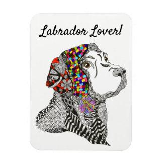 """Labrador Retriever Magnet 3""""x4"""" - Customizable"""