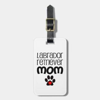 Labrador Retriever Mom Luggage Tag
