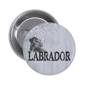 Labrador Retriever Pinback Buttons