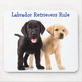 Labrador Retriever Puppies Rule Mousepad