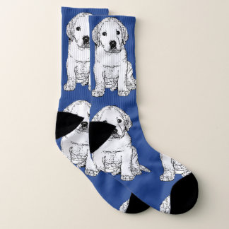 Labrador Retriever puppy  dog socks 1