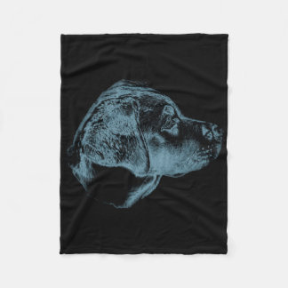 Labrador Retriever Puppy Fleece Blanket