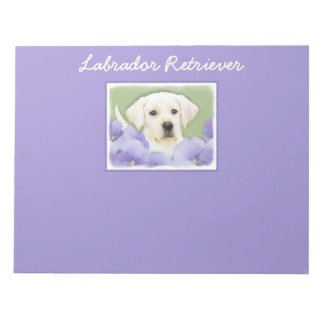 Labrador Retriever Puppy Notepad