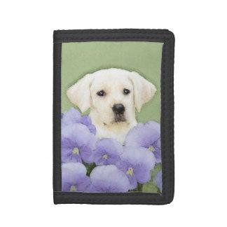 Labrador Retriever Puppy Trifold Wallet