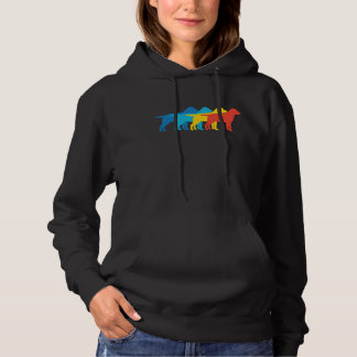 Labrador Retriever Retro Pop Art Hoodie