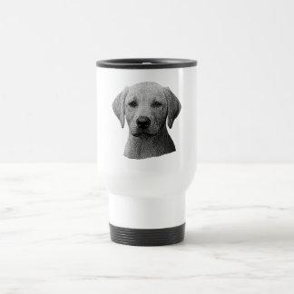 Labrador Retriever - Sylized Image - Add Text Travel Mug