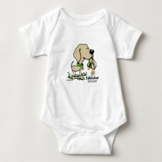 Labrador Retriever - Yellow Baby Bodysuit