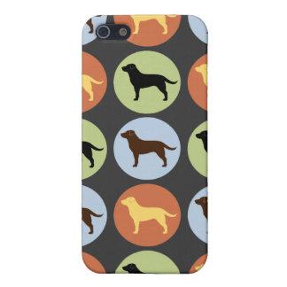 Labrador Retrievers Pattern iPhone 5/5S Covers