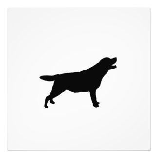 Labrador Retriver hunting dog Silhouette Art Photo