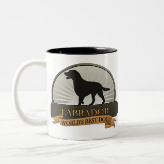 Labrador Two-Tone Coffee Mug