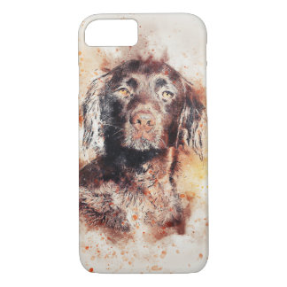 Labrador Watercolour Dog Design iPhone 7 Case