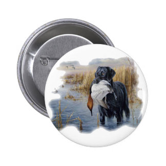Labrador with Duck- Duck Hunting Pin