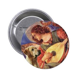 Labrador (Y8) - Mandolin Angel 6 Cm Round Badge