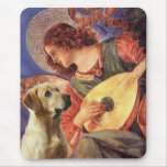 Labrador (Y8) - Mandolin Angel Mouse Pad