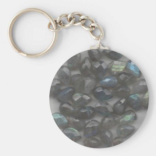 Labradorite Gems Keychain