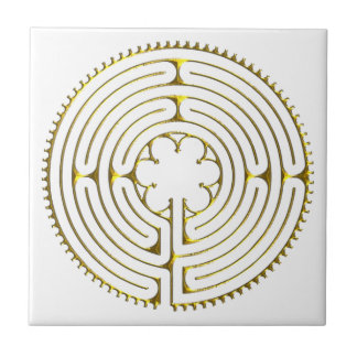Labyrinth Chartres Ceramic Tile